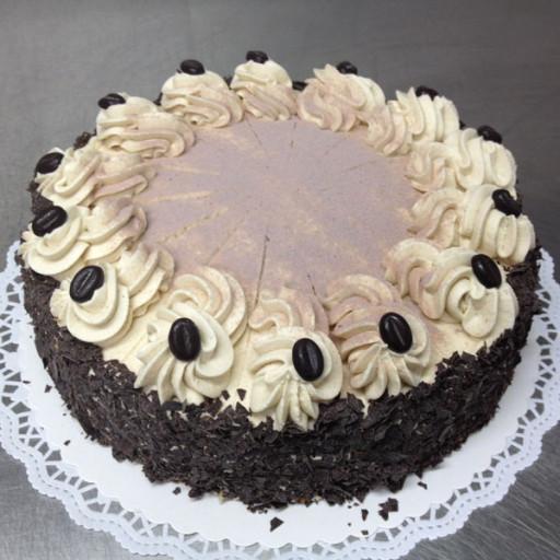 Mocca-Sahne-Torte