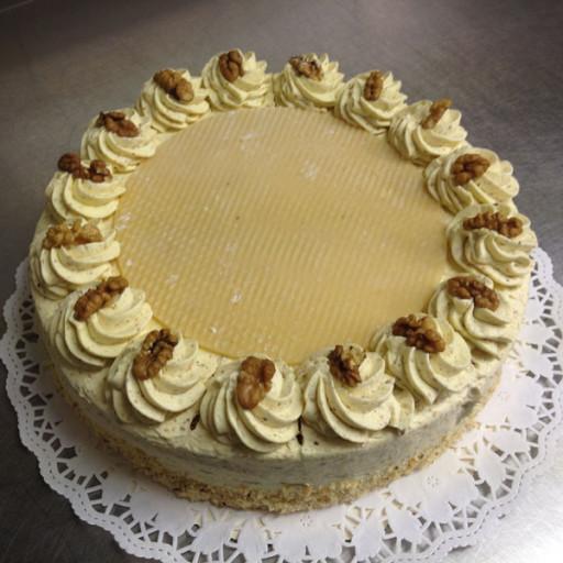 Nuss-Creme-Torte