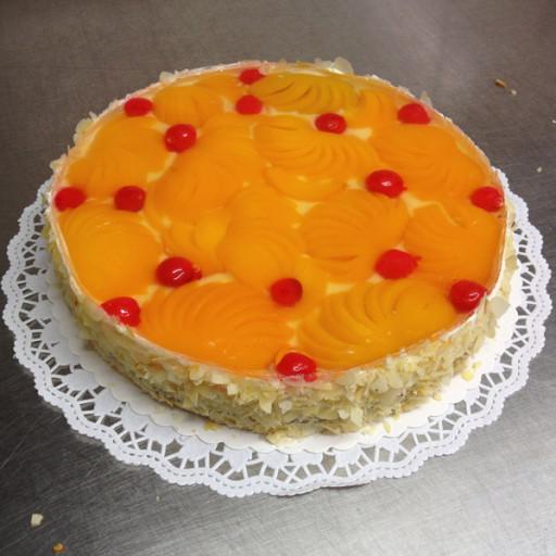 gemische Obst-Torte